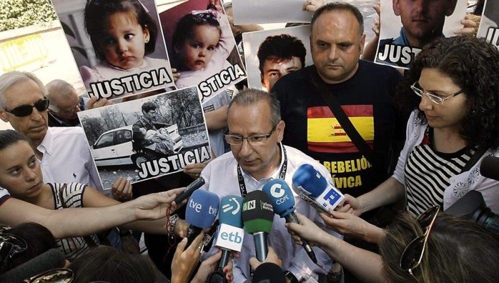 El presidente de la organización Voces contra el Terrorismo, Francisco José Alcaraz