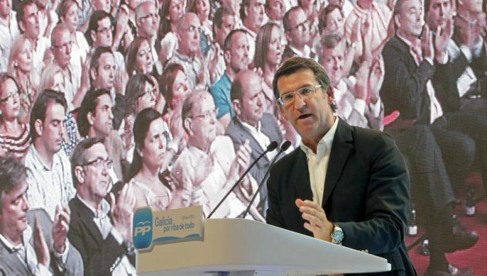 Alberto Núñez Feijóo, designado candidato del PP a la reelección en Galicia