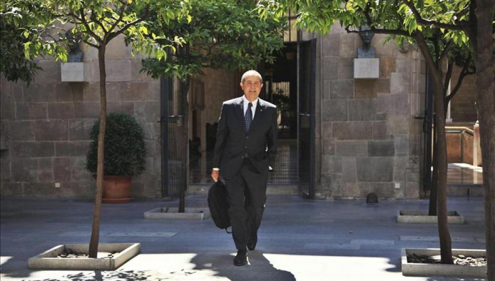 Conseller catalán de Interior, Felip Puig