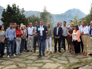 El PP vasco presenta a los tres cabezas de lista de cara a las próximas elecciones del 21 de octubre