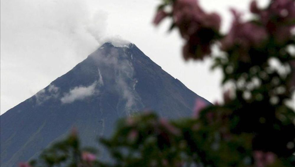 Volcán San Cristóbal, en Nicaragua