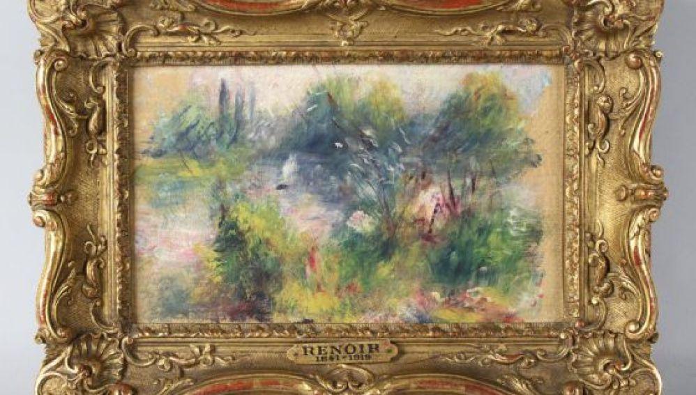 """""""Paysage bords de Seine"""", de Pierre Auguste Renoir"""