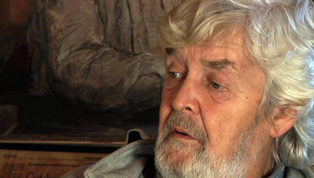Xosé Manuel Beiras, cabeza de lista de 'Alternativa Galega' en la provincia de A Coruña