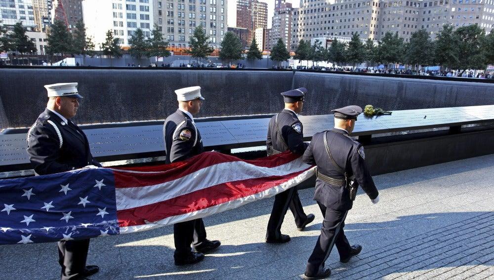 Homenaje a las víctimas del 11-S