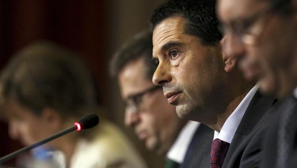 El ministro de Finanzas de Portugal, Vitor Gaspar