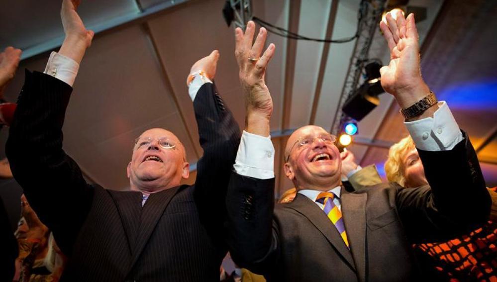 Los liberales vencen las elecciones legislativas en Holanda