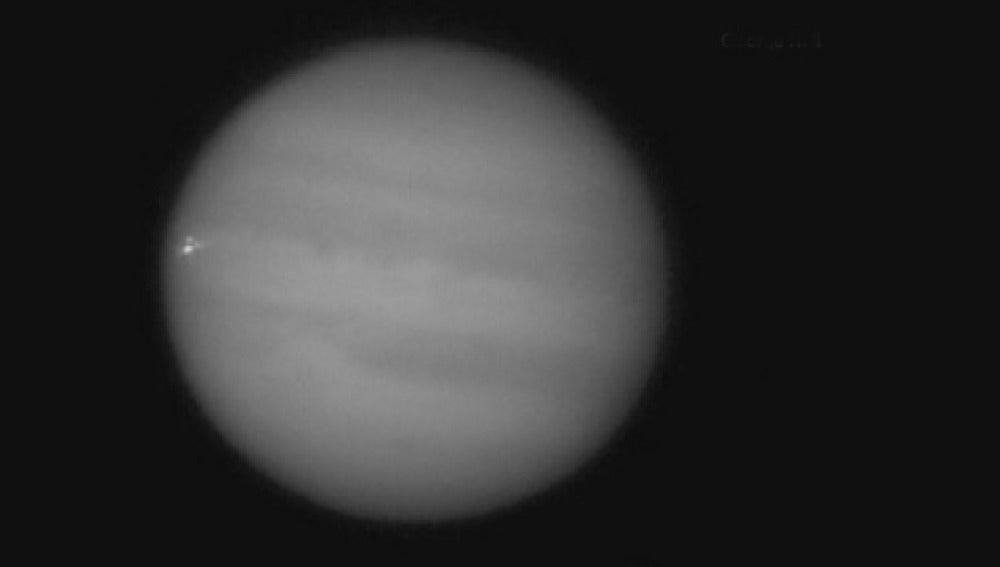 Explosión en Júpiter