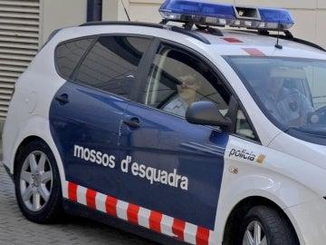 Un coche de los Mossos d'Escuadra