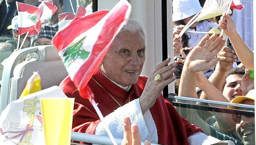 Benedicto XVI en Líbano