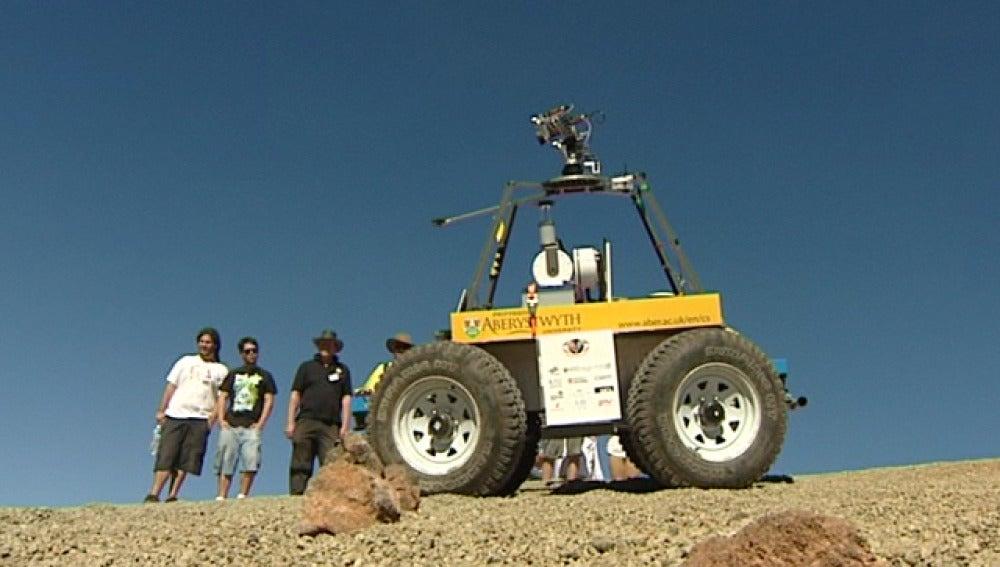 Rover, el robot que irá a Marte