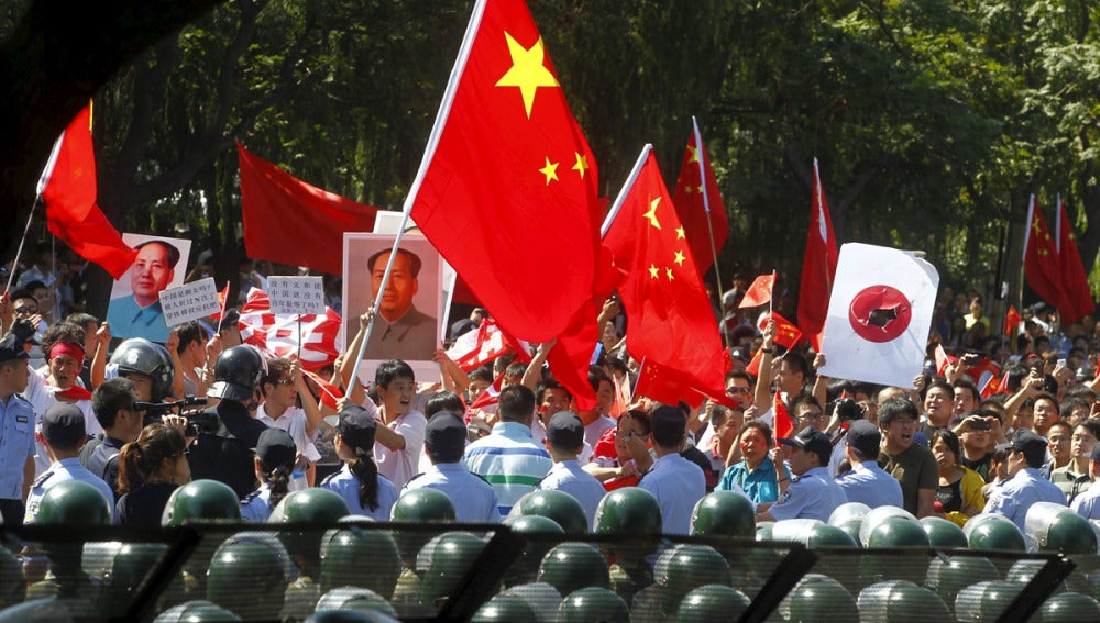 China Vs. Japón, la disputa por las islas Diaoyu (18-09-2012)