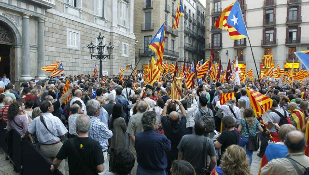 Artur Mas, a su llegada a la Generalitat