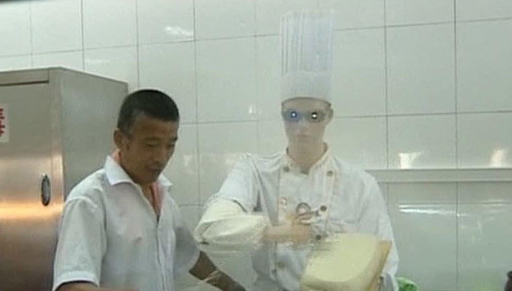 El robot cocinero chino