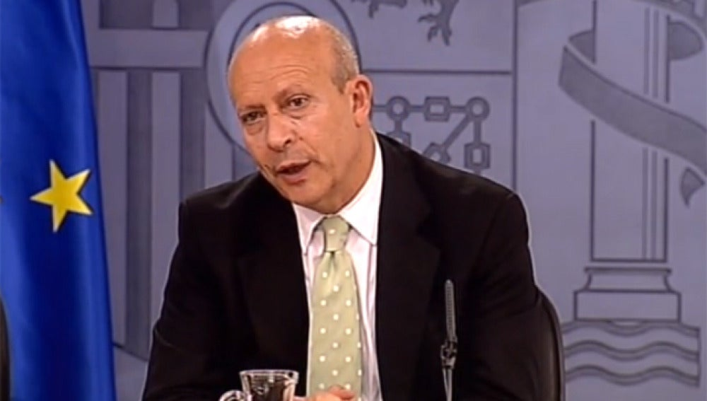 Wert en rueda de prensa del Consejo de Ministros
