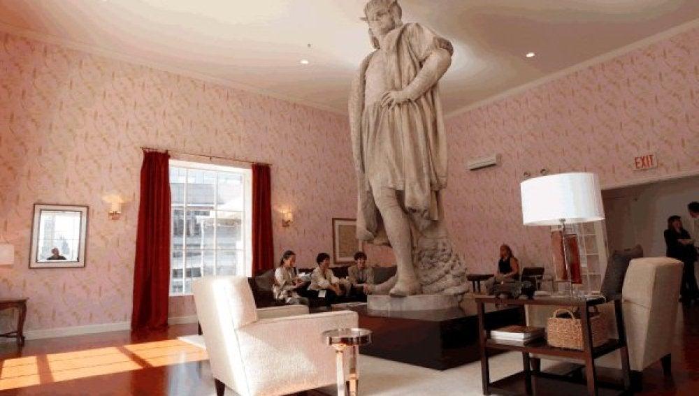 Cristóbal Colón en Manhattan