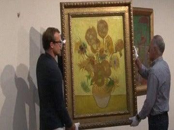 Cuadro 'Los girasoles' de Van Gogh