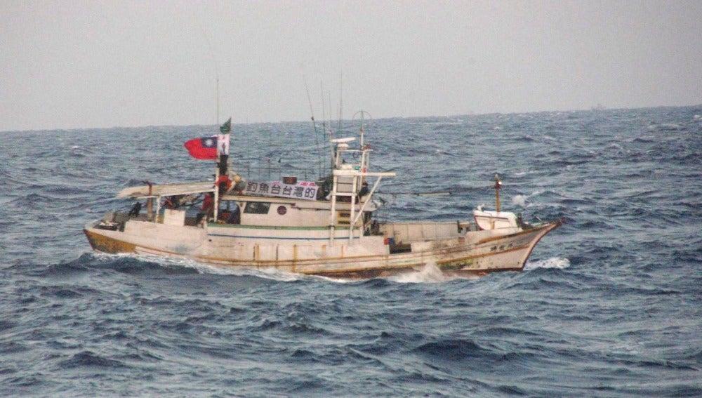 Barco taiwanés que se adentró en aguas territoriales japonesas cerca de las islas Senkaku