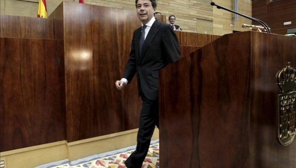 Ignacio González agradece el servicio de Esperanza Aguirre con los ciudadanos