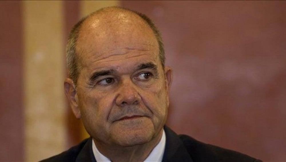 Chaves, en su comparecencia ante la comisión parlamentaria
