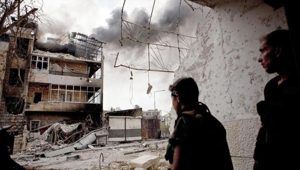 Atentados en Alepo
