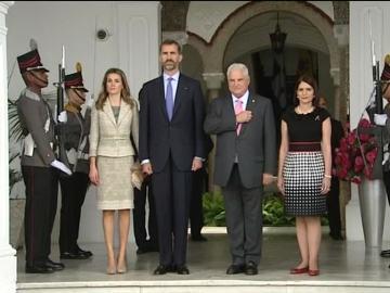 El príncipe Felipe apoya la presencia de las empresas españolas en Panamá