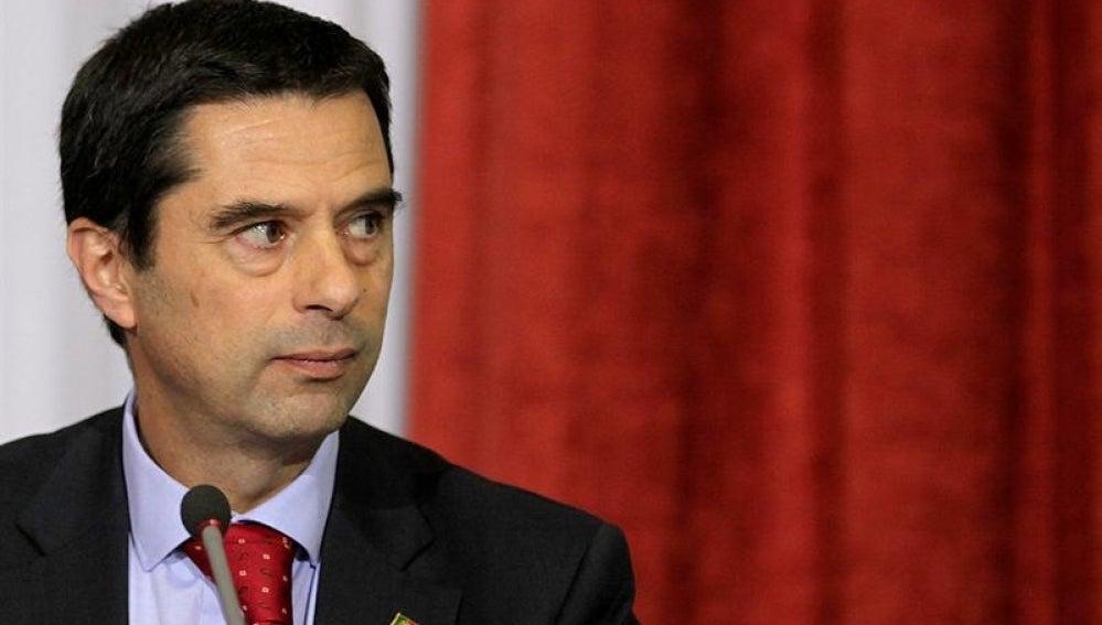 El ministro de Finanzas portugués, Vítor Gaspar
