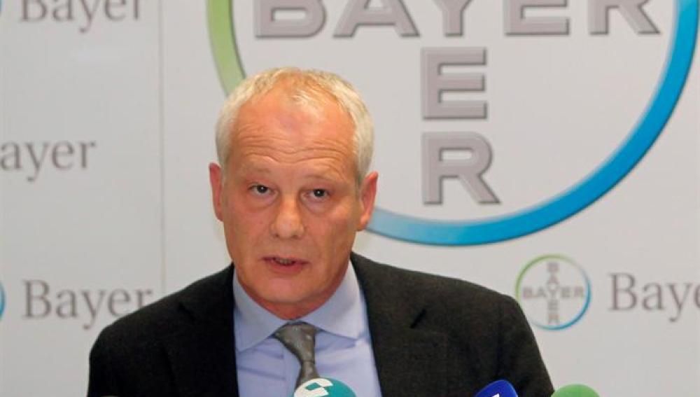 El consejero delegado de Bayer Hispania, Rainer Krause