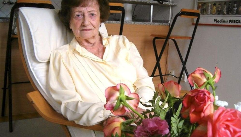 Dita Kraus, la bibliotecaria de Auschwitz.