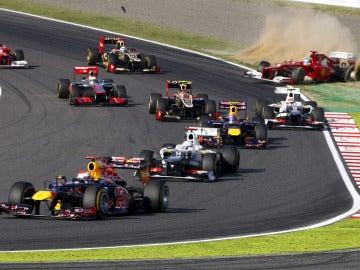 Alonso, fuera de pista en Suzuka