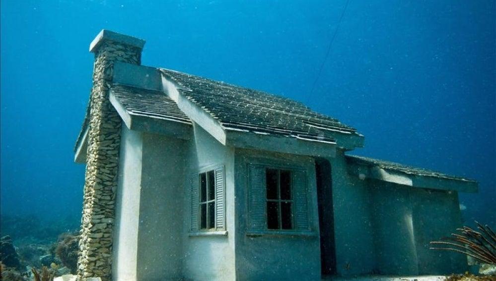Casas submarinas para peces en Cancún