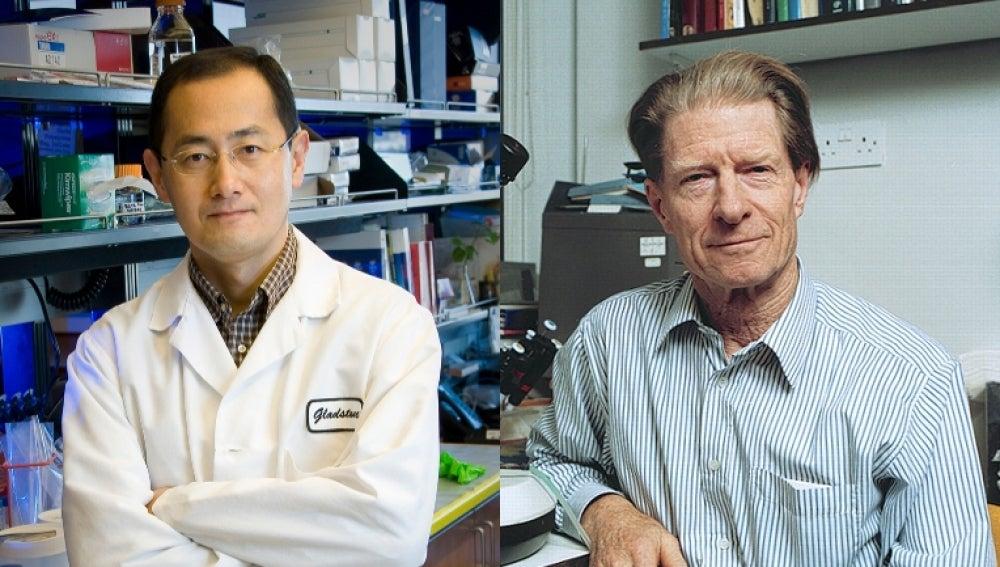 Shinya Yamanaka y John Gurden