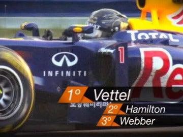 Vettel en Corea 2011