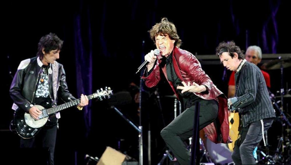Los Rolling Stones, en concierto