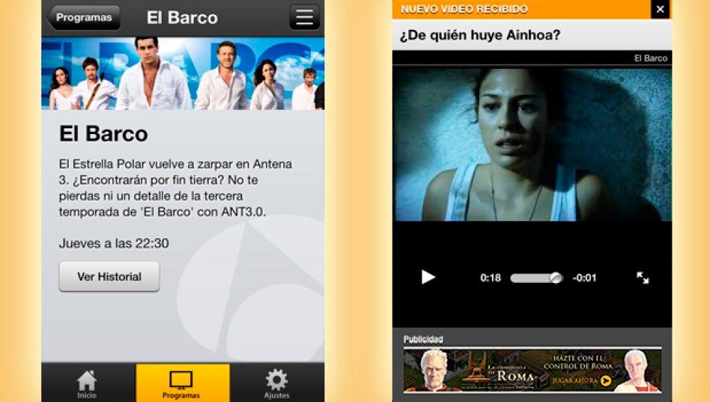 'El Barco' en ANT3.0