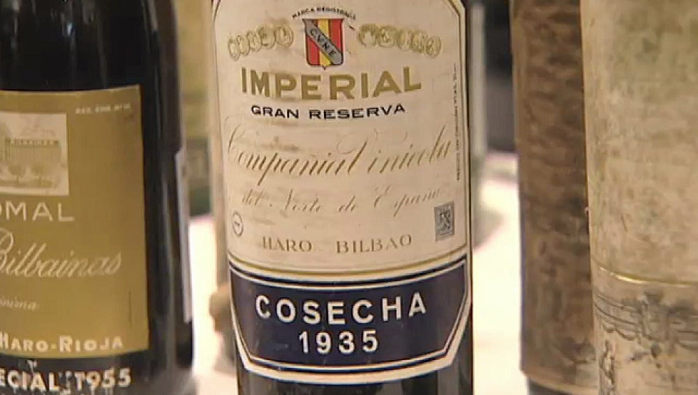 Botellas de vino de Rioja