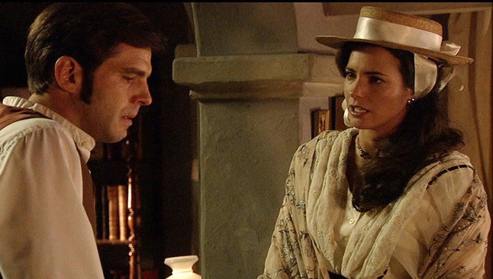 Héctor confía en Sofía el secreto de su hermana