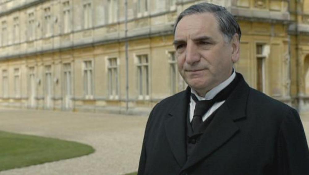 El mayordomo de Downton Abbey
