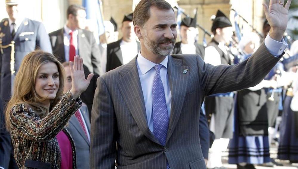 Los Príncipes llegan a Asturias