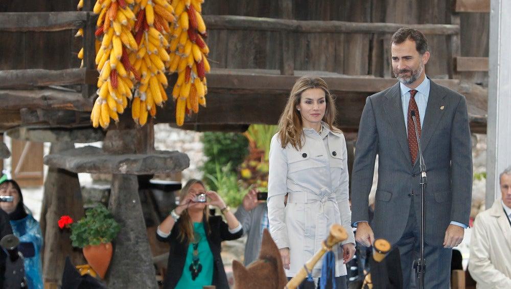 Los Príncipes de Asturias visitan Bueño