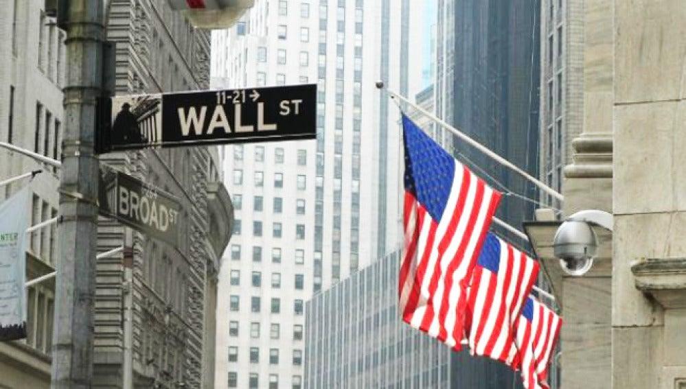Wal Street, en Nueva York.