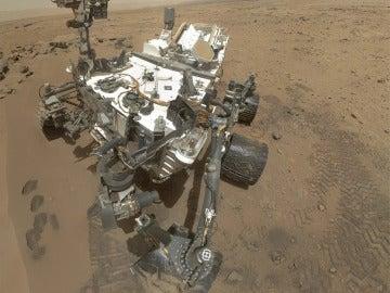 El explorador Curiosity en Marte