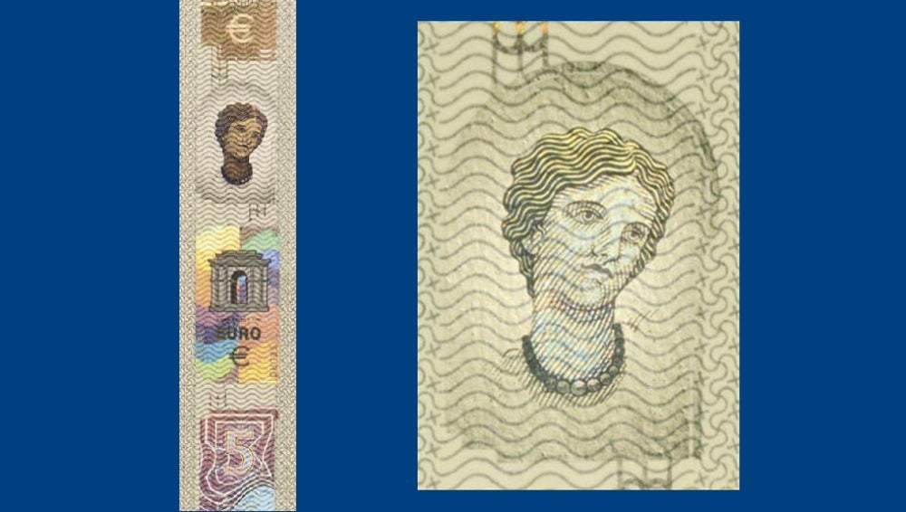 Los nuevos billetes de euro homenajearán a la mitológica Europa