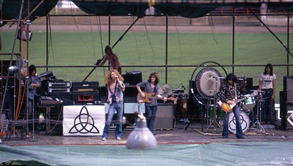 Led Zeppelin, durante un concierto