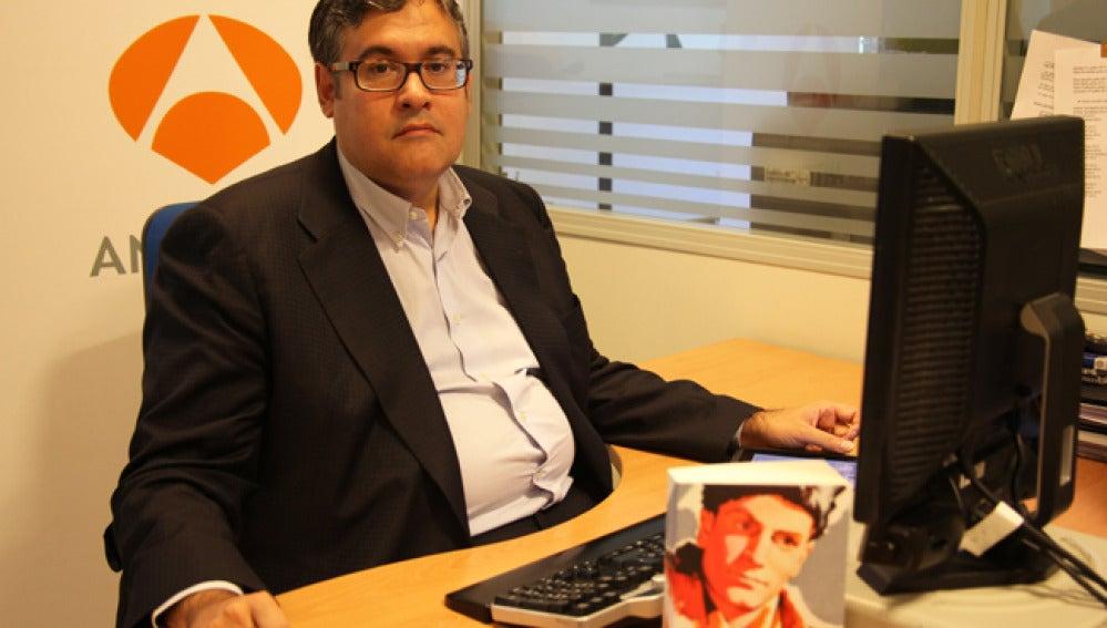 Juan Manuel de Prada en el encuentro digital con los internautas.