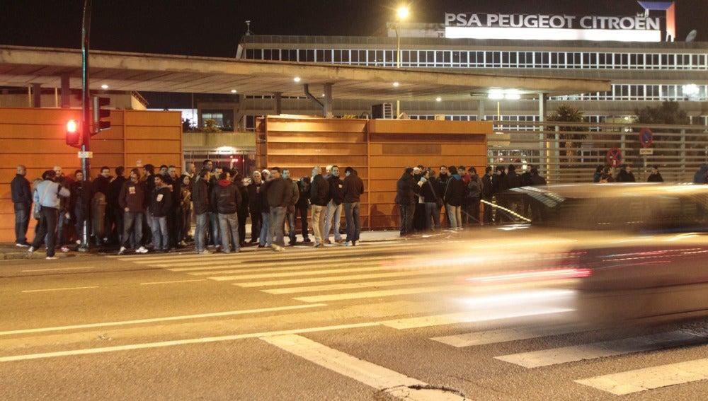 La fábrica PSA de Vigo