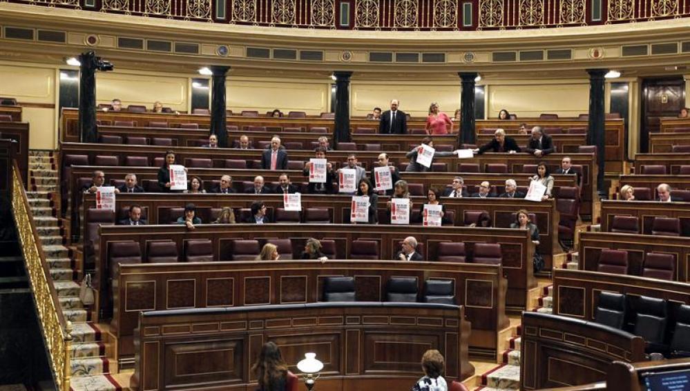 El Congreso de los Diputados el 14N