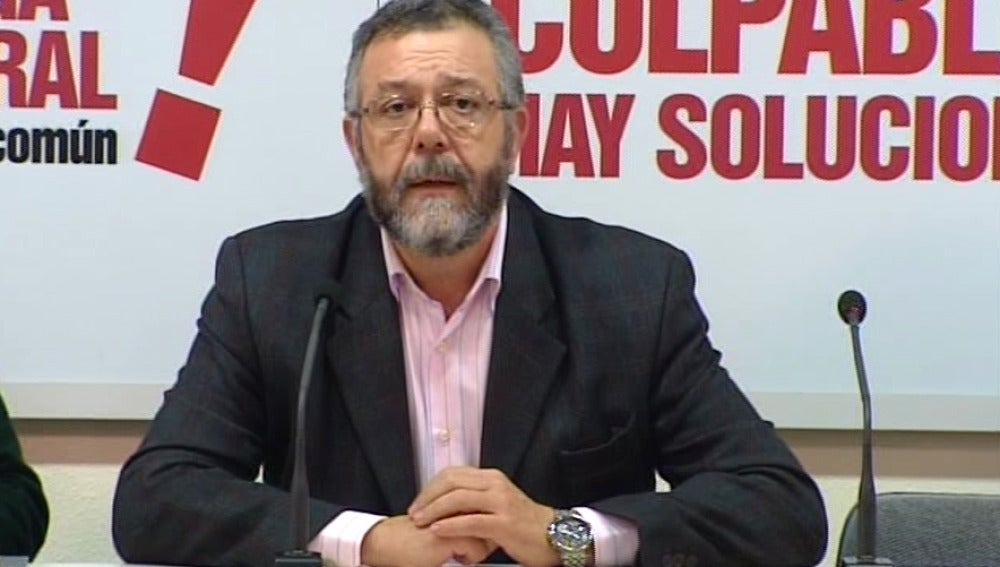 Antonio del Campo, secretario general de organización de CCOO
