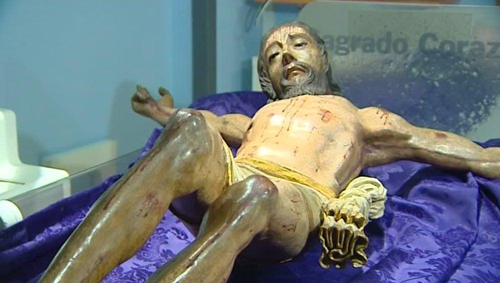 El Cristo de la Vera Cruz en la clínica