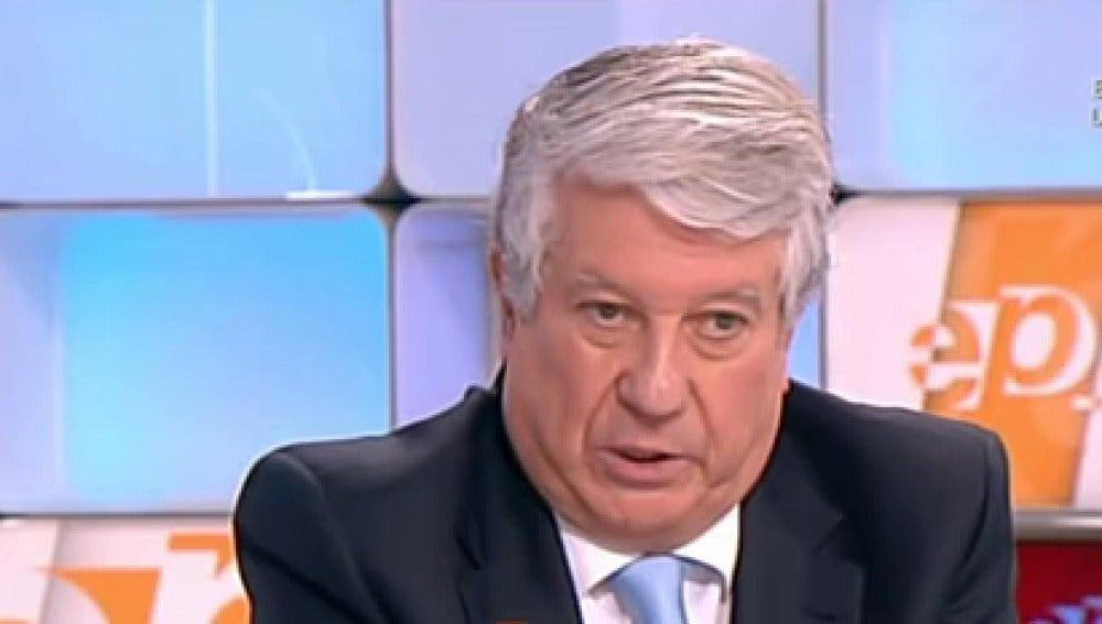 Arturo Fernández en Espejo Público