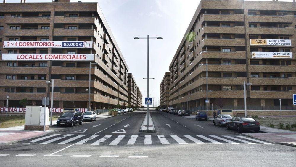 Imagen de viviendas sin vender